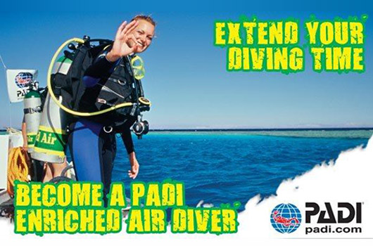 PADI Enriched Air Course - NITROX ...