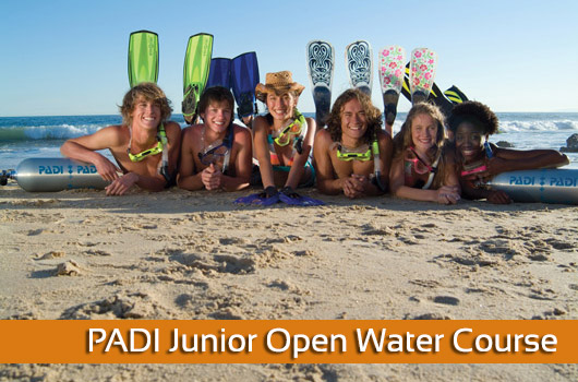 PADI Junior Open Water Course