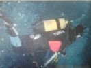 Karen Tredger - first dives on Protea Banks.